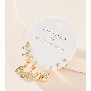 NWT Anthropologie Brady Earring Set